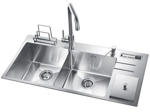 Những ưu điểm nổi bật của chậu rửa bát inox304 với chậu rửa bát truyền thống