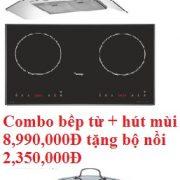 Combo bếp từ nhập khẩu Malaysia + Hút mùi Canzy giảm 50%, tặng bộ nồi cao cấp trị giá 2,350,000Đ